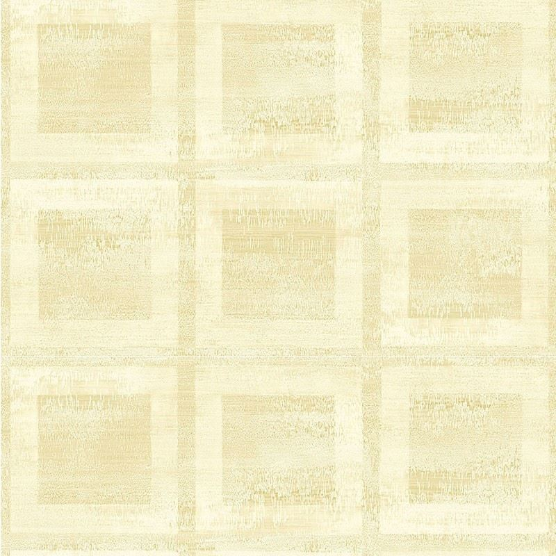 Commercial Wallpapers: Grace Blocks, White Questex - Commercial Wallpaper